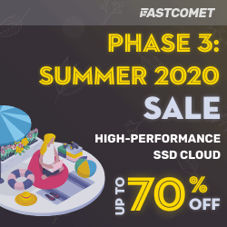 fastcomet summer sales